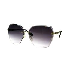 2016 Baru Tanpa Bingkai Berwarna Terang Kristal Wanita Kacamata Hitam Murah Hati Gradient UV Perlindungan Kacamata Hitam-Internasional