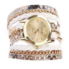 Harga 2016 Baru Kualitas Tinggi Fashional Gelang Jam Tangan Putih Original