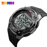 Jual 2016 Skmei Fashion Olahraga Merek Pria Digital Militer Watch Multifungsi Waterproof Outdoor Led Casual Watches Pria Abu Abu Skmei Online