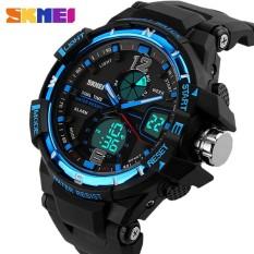 2016 SKMEI G Style Fashion Digital-Watch Mens Sports Watches Army Military Wristwatch Erkek Saat Shock Resist Clock Quartz Watch - intl