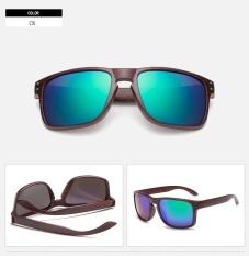 2017 Merek Sunglasses Pria Desain Vintage Kayu Sun Kacamata untuk Pria Oculos Plastik Biji-bijian