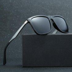 Perbandingan Harga 2017 Hot Fashion Men S Aviation Sun Glasses Vintage Men Brand Designer Mirror Polarized Protection Retro Sunglasses(Matte Black) Intl Oem Di Tiongkok