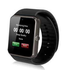 2017 Hot Torntisc GT08 Smart Watch Ponsel Mendukung TF SIM Kartu MP3 0.3MP Camera Bluetooth Sync Notifier Jam-Intl