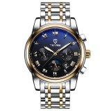 2017 Jam Tangan Mekanis Luxury Top Brand Tevise 9005 Pria Kasual Watch Clock Mens Kalender Otomatis Jam Tangan Dengan Fase Bulan Intl Tiongkok