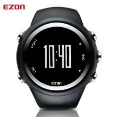 Harga 2017 Pria Jam Tangan Merek Mewah Gps Timing Menjalankan Olahraga Menonton Kalori Counter Digital Watches Ezon Hitam Intl Asli Ezon