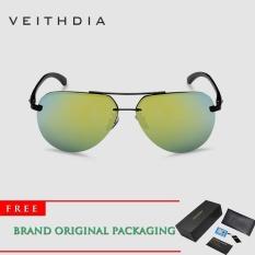 Beli 2017 Baru Merek Vintage Hd Terpolarisasi Kacamata Pria Aluminium Paduan Bingkai Mengemudi Kacamata Goggles Kacamata 143 Intl Lengkap
