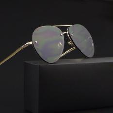 2017 Baru Pilot Sunglasses Wanita Retro Polarized Sunglasses Pria Merek Klasik Designer Unisex Sunglasses Fashion Gaya 3027 Emas Bingkai Gray Lensa Intl Dki Jakarta Diskon
