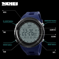 Beli 2017 Baru Populer Skmei 1246 Militer Watches Pria Fashion Sport Watch Skmei Merek Led Digital 50 M Tahan Air Swim Dress Olahraga Outdoor Jam Tangan Internasional Pake Kartu Kredit