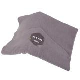 Harga 2017 Gaya Baru Soft Neck Trtl Travel Pillow Black Grey Jorney Hadiah Terbukti Super Dukungan Yang Bagus