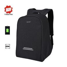 2017 Baru Tigernu 15.6 Inch Anti-Theft Ransel Laptop Eksternal USB Pengisian Bisnis Ransel Laptop Multifungsi Travel Bags