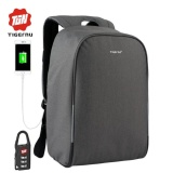 Review 2017 New Tigernu 15 6Inch Anti Theft Laptop Backpack External Usbcharging Business Laptop Backpack Travel Bags Intl Oem