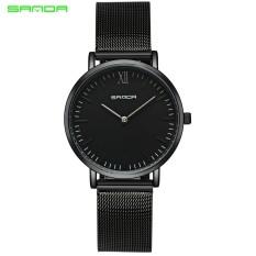 Jual 2017 Sanda Stainless Luxury Women Watches Fashion Quartz Women Watch Female Casual Clock Lovers Wrist Watch Relogio Feminino New Hot Intl Ori