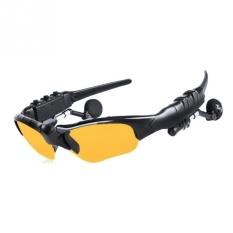 2017 Olahraga Musik Kacamata earphone Dingin Matahari Glasse Nirkabel Bluetooth 4.1 Kepala Set Stereo For Smart