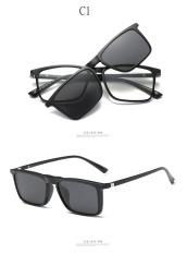 Harga 2017 Tr Sunglasses Plastic Titanium Glasses Frame With Magnetic Polarized Sunglasses Clip Myopia Driving Glasses Polarized 2249 Intl Lengkap