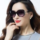 Beli 2017 Wanita Baru Fashion Fox Kepala Sunglasses Ladies Big Bingkai Kacamata Polarisasi Intl Yang Bagus