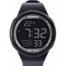 Harga 2017 Xonix Jam Tangan Mewah Pria 100 M Relogio Masculino Led Digital Menyelam Renang Reloj Hombre Olahraga Watch Sumergible Jam Tangan Hitam Intl Dan Spesifikasinya