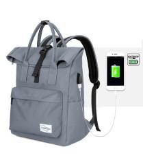 Jual 2018 Versi Terakhirkorean Backpack Perjalanan Bisnis Luar Ruangan Kasual Laptop Backpack Untuk 12 17Inches Laptop Dengan Usb Eksternal Pengisian Intl Lengkap