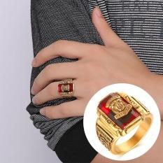 Jual Beli 20Mm Stainless Steel Cincin For Pria 1973 Walton Tigers Ring Perhiasan Pria Baru Tiongkok