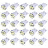 Beli 20 Pcs T10 1206 8Smd Led Display Wide Lampu W5W Travel Lampu Lampu Baca Intl Intl Cicil