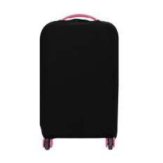 Jual 22 24 Inch Washable Foldable Luggage Cover Suitcase Protector Black Intl Murah