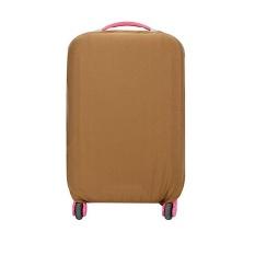 Spesifikasi 22 24 Inch Dapat Dicuci Lipat Luggage Cover Koper Protector Cokelat Kehitaman Intl Lengkap Dengan Harga