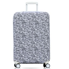 Beli 22 26 Inch Anti Dust Suitcase Cover Luggage Protector Spandex Elastic Covers For Trunk Case Trolley Case Apply To 22 26 Inch Suitcase Cover Only Dengan Kartu Kredit
