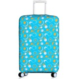 Beli 22 26 Inch Anti Dust Suitcase Cover Luggage Protector Spandex Elastic Covers For Trunk Case Trolley Case Apply To 22 26 Inch Suitcase Cover Only Tiongkok