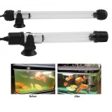 Spesifikasi 220 250 V Tahan Air Aquarium Tangki Ikan Lampu Bawah Air Kolam Renang Uv Sterilizer Lampu Steker As Internasional Terbaru