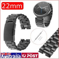 22mm Stainless Steel Band Strap untuk MOTO 360 1st Gen Smart Watch + Alat-Internasional