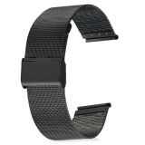 22Mm Stainless Steel Mesh Bracelet Watch Band Replacement Strap For Men Women Intl Di Tiongkok