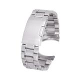 Top 10 22Mm Stainless Steel Solid Gelang Perhiasan Link Band Tali Pengikat Laur Berakhir With 4 Buah Perhiasan Pin Spring Bar Perak Online