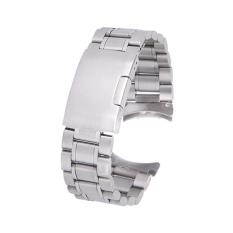 Beli 22Mm Stainless Steel Solid Gelang Perhiasan Link Band Tali Pengikat Laur Berakhir With 4 Buah Perhiasan Pin Spring Bar Perak Murah