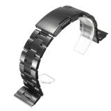 Jual 22Mm Stainless Steel Solid Band Link Perhiasan Gelang Tali Pengikat Ujung Lurus Online Tiongkok