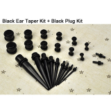 Harga 23 Pc Ear Taper Plug Kit 14G 00G 1 6Mm 10Mm Alat Pengukur Expander Set Stretchers Putih Termurah