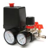 Spesifikasi 240 V 95 125 Psi Tekanan Katup Kompresor Udara Saklar Berjenis Pengatur Pengukuran Internasional Terbaik