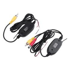 Spek 2 4 Ghz Wireless Rca Video Transmitter Receiver Kit Untuk Mobil Kamera Belakang Dvd Intl