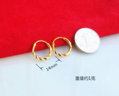 Toko Mutiara Keberuntungan Kecil Mini Anting Bertahan Lama Melindungi Warna Terlengkap Tiongkok
