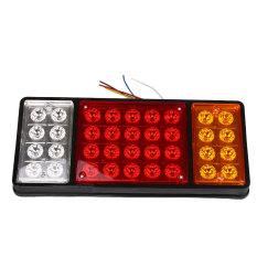 24 V 36 LED Lampu Kampanye Versus Berhenti Lampu Ekor Karavan Truk Mobil Van