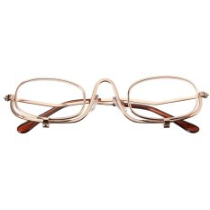 Harga 2 5 Magnifying Folding Flip Down Lens Makeup Kacamata Kacamata Mata Kosmetik Oem Tiongkok