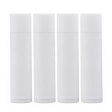 25 Buah 4 2G Diy Isi Ulang Plastik Kosong Lipbalm Tube Lipstik Tetap Wadah Botol Putih Vococal Diskon 30