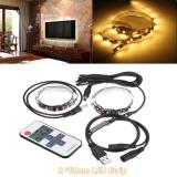 2 50 Cm Rgb Komputer Tv Lcd Led Latar Belakang Strip Light Remote Control Usb Powered Warm White Intl Promo Beli 1 Gratis 1