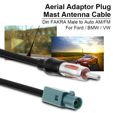 Review 25 Cm Fakra Din Antena Am Fm Ae Rial Timah Kabel Konektor Adaptor Untuk Bmw Ma559 Xcsource