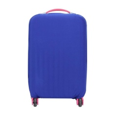 Spesifikasi 26 30 Inch Dapat Dicuci Lipat Luggage Cover Koper Pelindung Biru Internasional Baru