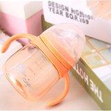 Jual 280 Ml Bayi Anak Anti Bocor Minum Botol Silica Gel Training Botol Dengan Handle Duckbill Baby Susu Sippy Cup Intl Murah Di Tiongkok