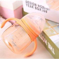 Berapa Harga 280 Ml Bayi Anak Anti Bocor Minum Botol Silica Gel Training Botol Dengan Handle Duckbill Baby Susu Sippy Cup Intl Oem Di Tiongkok