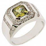 Jual 2 8Ct Baru Fashion Perhiasan Peridot Zircon 18Kt Emas Disepuh Wedding Ring Hadiah Ukuran 7 Untuk 15 Gr2188 Intl Branded