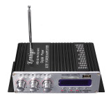 Promo 2Ch Hi Fi Stereo Amplifier Booster Dvd Fm Usb Sd Mp3 Speaker Remote For Car Home Black Indonesia