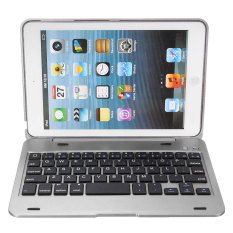 Jual 2 In 1 Bluetooth Keyboard For Melindungi Pemilik Stan Ipad Mini 1 2 3 Perak Ori
