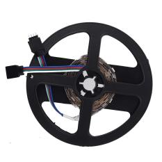 2 M 5050 SMD 60 LED RGB Klub Mobil Truk Lampu Strip + 24 Kunci Remote Controller