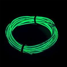 Beli 2 M Lampu Led Glow Flat El Kawat Strip Rope Tube Car Dance Party Usb Controller Warna Hijau Intl Murah Tiongkok